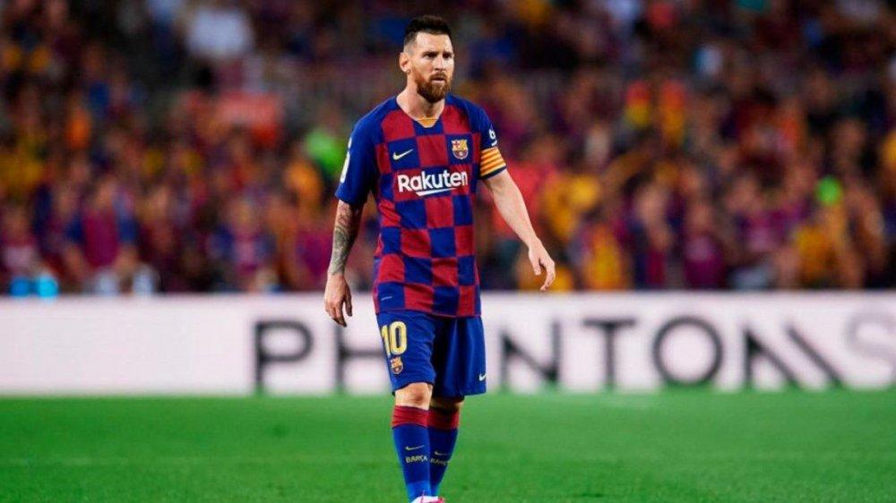 Luego de casi 100 días, Lionel Messi regresa con el Barcelona ...