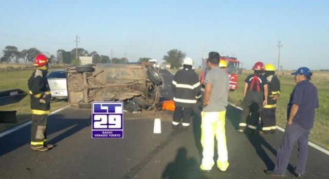 Matrimonio Accidente : Murió un matrimonio juninense en accidente ruta