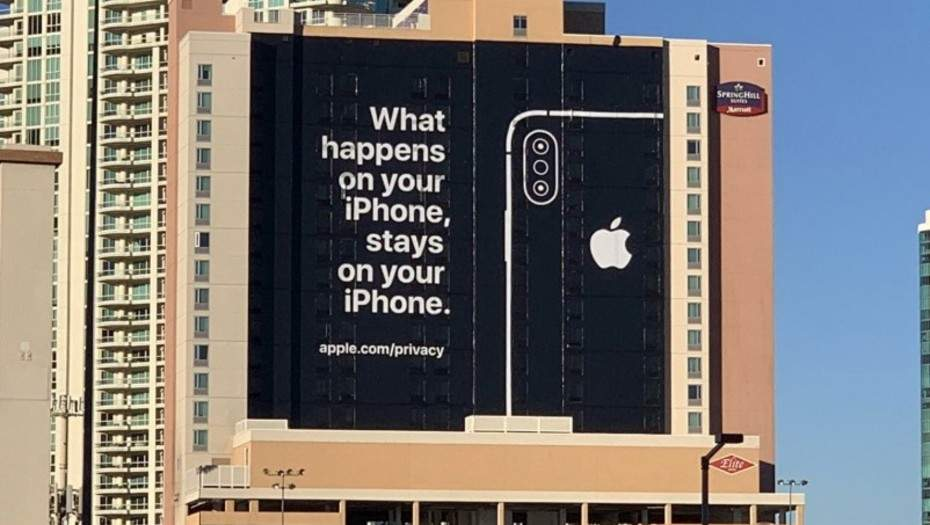 "Apple se burla de Google y Amazon en el CES 2019: ""Lo que pasa en tu iPhone, queda en tu iPhone"""